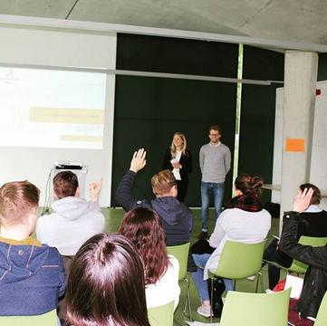 Berufspodium an der RWTH Aachen © Mentoring – Fakultät für Bauingenieurwesen